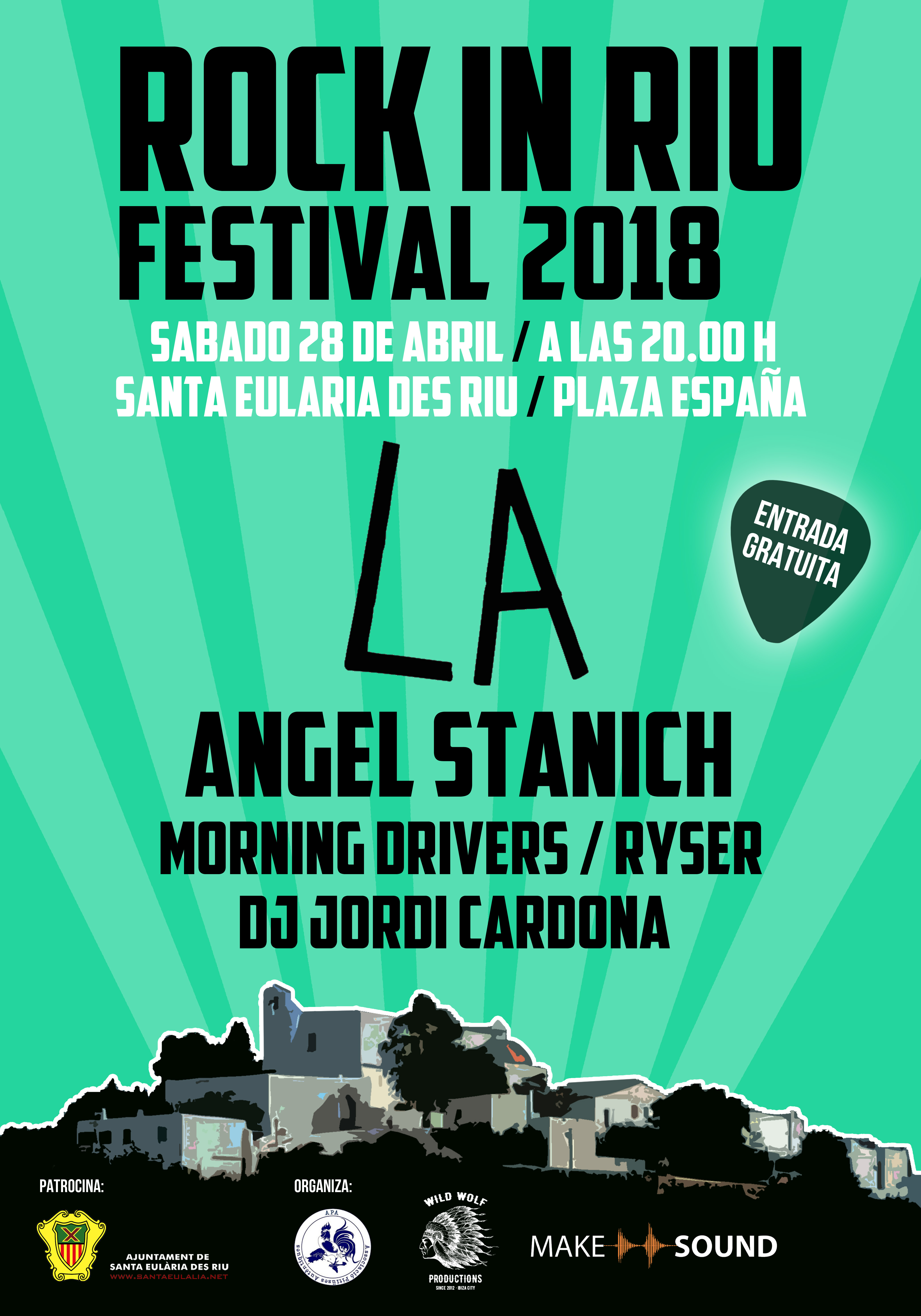 cartel RockInRiu 2018