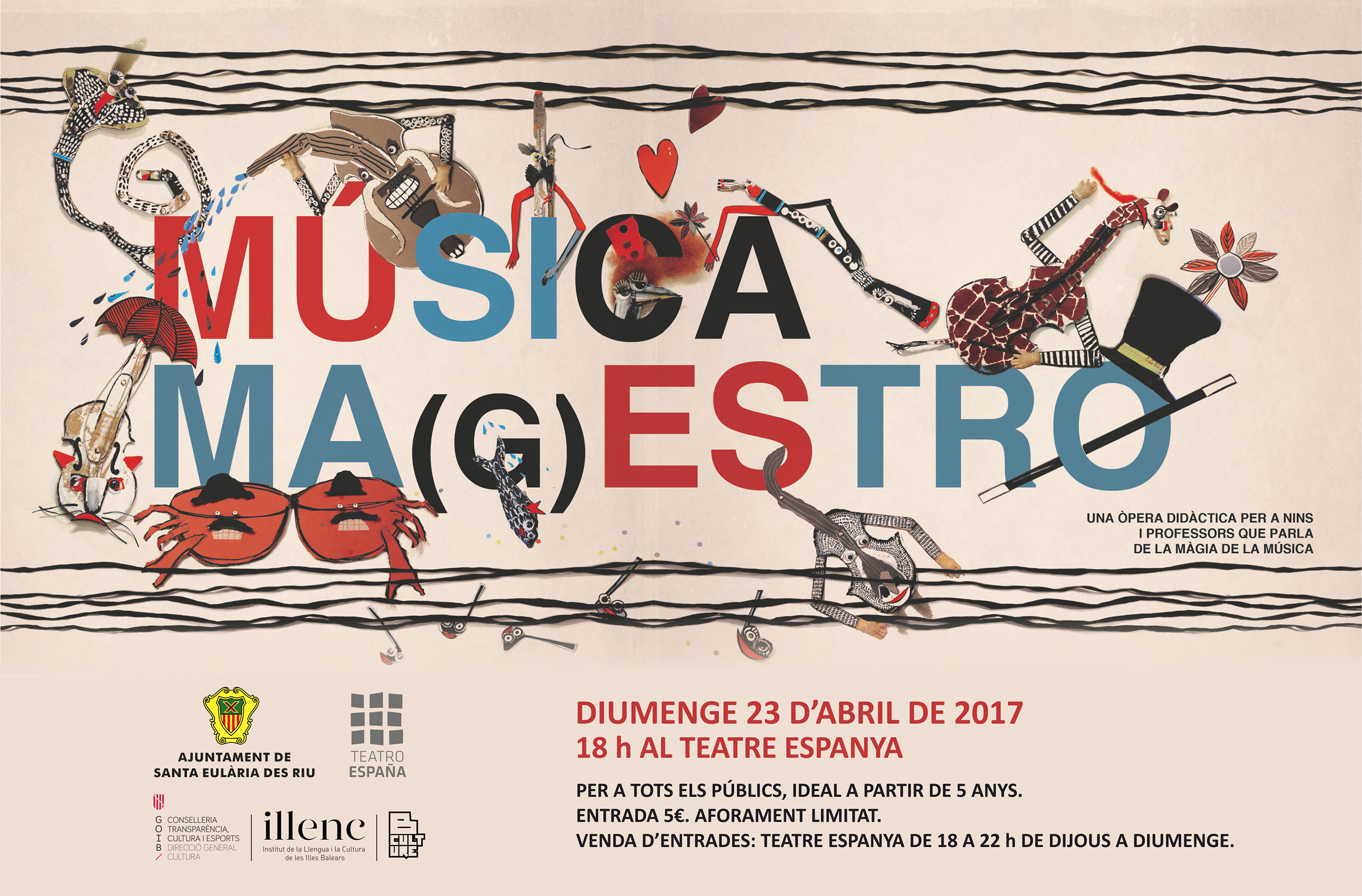 CARTELL MUSICA MAGESTRO 23 4 2017 TALENT IB