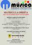 Abierta la matrícula para la Escuela Municipal de Música con cursos en Santa Eulària des Riu, Jesús y es Puig d'en Valls